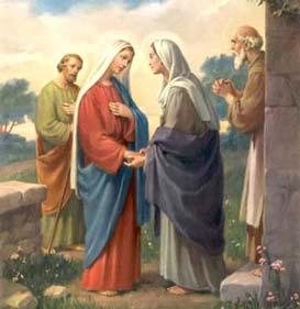 Святий розарій до Богородиці Діви. Друга радісна таємниця. Відвідини св. Єлизавети