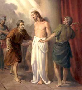 Друга скорботна таємниця. Бичування Ісуса