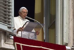 Послання Папи Бенедикта XVI на Великий Пість 2012