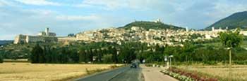 Місто Ассізі - родинне місто св. Франциска (сучасне фото)