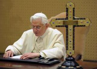 Послання Папи Венедикта XVI на Великий Піст 2013