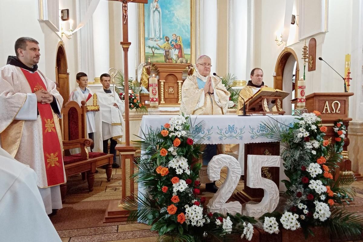 25-та річниця свячення храму в Новоселиці